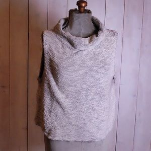 Eileen Fisher Knit Turtleneck Top Size Large